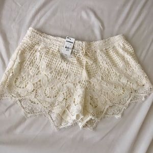 Express crochet shorts